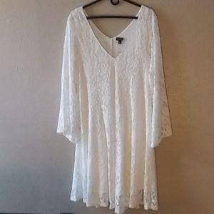 Ivory dress by Torrid